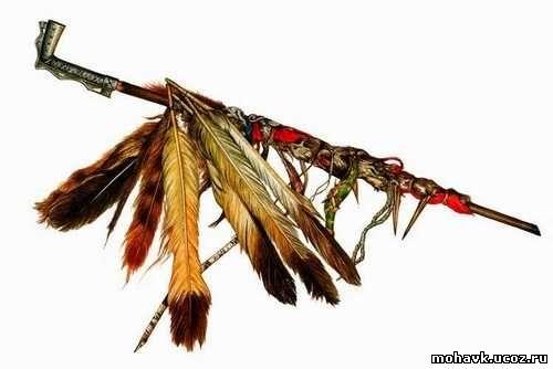 Индейская трубка